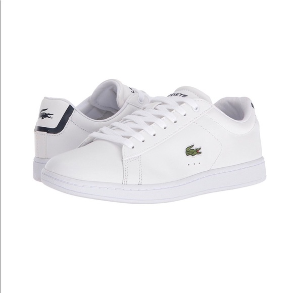 00e2260ed61 Lacoste Shoes | Womens Leather Carnaby Evo Sneaker | Poshmark